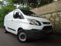 2014 FORD TRANSIT CUSTOM 2.2 310 LR P/V 1d 99 BHP L2 H1 LONG WHEEL BASE £8440.00