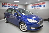 USED 2015 65 FORD GRAND C-MAX 1.0 TITANIUM 5d 124 BHP Rear park sensors, Bluetooth, 1 Owner, Cruise control