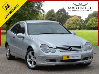 2005 MERCEDES-BENZ C CLASS 2.1 C220 CDI SE SPORTS 3d AUTO 148 BHP £2995.00