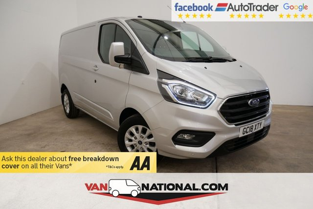 USED 2018 18 FORD TRANSIT CUSTOM 2.0 300 LIMITED P/V L1 H1 129 BHP * SAT NAV * AIR CON *NEW SHAPE * SAT NAV * AIR CON * CRUISE *