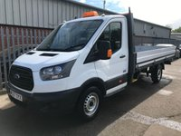 USED 2017 67 FORD TRANSIT 350 130 BHP LWB EF FACTORY DROPSIDE PICKUP