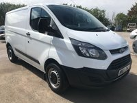 USED 2017 67 FORD TRANSIT CUSTOM 290 105PS SWB L1 EURO 6