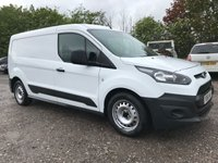 USED 2016 66 FORD TRANSIT CONNECT 210 100PS L2 LWB WHITE VAN
