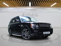 """USED 2013 13 LAND ROVER RANGE ROVER SPORT 3.0 SDV6 HSE BLACK 5d AUTO 255 BHP **NO ULEZ CHARGE ON THIS VEHICLE** SAT NAV 