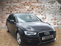 USED 2013 13 AUDI A3 1.8 TFSI S LINE 5d AUTO 178 BHP S LINE SPORTBACK WITH UNBELIEVABLE SERVICE HISTORY