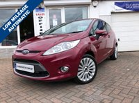 USED 2010 60 FORD FIESTA 1.4 TITANIUM 3d AUTO 96 BHP SUPPLIED WITH 12 MONTHS MOT, LOVELY CAR TO DRIVE