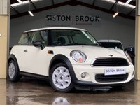 USED 2012 12 MINI HATCH FIRST 1.6 FIRST 3d 75 BHP FULL SERVICE HISTORY