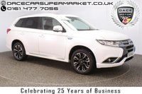 USED 2017 17 MITSUBISHI OUTLANDER 2.0 PHEV 4H 5DR AUTO SAT NAV 360 CAMERA LEATHER SEATS 200 BHP SERVICE HISTORY + HEATED LEATHER SEATS + SATELLITE NAVIGATION + 360 DEGREE CAMERA + ELECTRIC SUNROOF + BLUETOOTH + CRUISE CONTROL + CLIMATE CONTROL + MULTI FUNCTION WHEEL + DAB RADIO + PRIVACY GLASS + XENON HEADLIGHTS + ELECTRIC WINDOWS + RADIO/CD/AUX/USB + ELECTRIC MIRRORS + 18 INCH ALLOY WHEELS