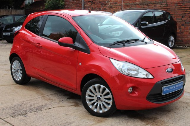 USED 2015 65 FORD KA 1.2 ZETEC 3d 69 BHP **** £30 ROAD TAX * AIR CON ****