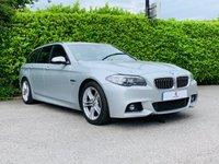 2015 BMW 5 SERIES 2.0 520D M SPORT TOURING 5d AUTO 188 BHP £15490.00