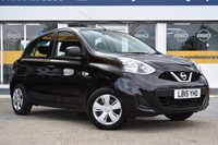 USED 2015 15 NISSAN MICRA 1.2 VISIA 5d 79 BHP NO DEPOSIT FINANCE AVAILABLE