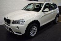 2012 BMW X3 2.0 SDRIVE18D SE 5d 141 BHP £8299.00