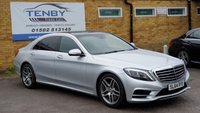 USED 2014 MERCEDES-BENZ S CLASS S400L Hybrid AMG Line 4dr Auto [Executive]