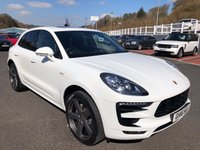 USED 2016 16 PORSCHE MACAN 3.0 D S PDK 5d 258 BHP £12,000 in options inc Panoramic sunroof, Sport Design Kit, 21 inch ++