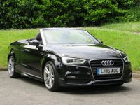 USED 2016 16 AUDI A3 2.0 TDI S LINE NAV 2d 148 BHP HEATED SEATS & 1 FORMER OWNER