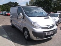 USED 2010 60 VAUXHALL VIVARO 2.0 2700CDTI SWB SHR SPORTIVE 1d 114 BHP Great Value Van, No VAT, Long MOT and only 2 former keepers!