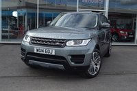 USED 2014 14 LAND ROVER RANGE ROVER SPORT 3.0 TDV6 SE 5d AUTO 258 BHP FINANCE TODAY WITH NO DEPOSIT