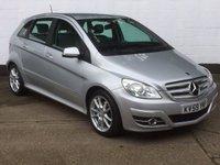2009 MERCEDES-BENZ B CLASS 2.0 B200 CDI SPORT 5d AUTO 140 BHP £5495.00