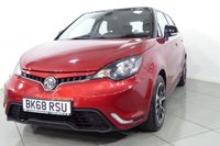 USED 2018 68 MG 3 1.5 STYLE PLUS VTI-TECH 5d 106 BHP A beautiful low mileage MG3 Style + with Air conditioning, cruise control, tyre pressure monitoring, manufacturers warranty until  July 2023 and DAB radio. We have no administration fees to pay when you buy his car. Hire purchase and PCP finance are available on this vehicle. Just get in touch or apply on our website. Extended warranties are also available. Ask about our FREE MOT FOR LIFE OFFER.
