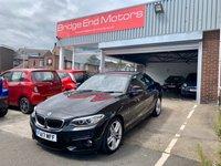2017 BMW 2 SERIES 1.5 218I M SPORT 2d 134 BHP £15995.00