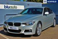 "USED 2015 15 BMW 320d 2.0 M SPORT 4d AUTO 181 BHP Stunning 19"" Diamond Cut Alloys, Red Leather, Heated Seats, Satellite Navigation......"