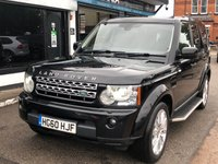 USED 2010 60 LAND ROVER DISCOVERY 3.0 4 TDV6 HSE 5d AUTO 245 BHP