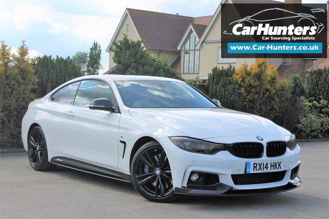 2014 04 BMW 4 SERIES 3.0 435I M SPORT 2d AUTO 302 BHP