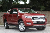 USED 2016 16 FORD RANGER 2.2 LIMITED 4X4 DCB TDCI 1d 158 BHP