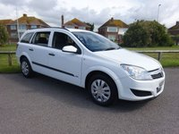 2007 VAUXHALL ASTRA 1.3 LIFE A/C CDTI 5 Dr 90 BHP ESTATE FULL SERVICE HISTORY WHITE £1695.00