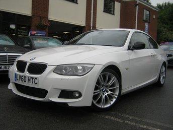 2010 BMW 3 SERIES 2.0 320I M SPORT 2d 168 BHP £6495.00