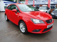 USED 2015 65 SEAT IBIZA 1.4 TOCA 3d 85 BHP 0%  FINANCE AVAILABLE ON THIS CAR PLEASE CALL 01204 393 181