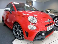 USED 2017 17 ABARTH 500 1.4 595 TURISMO 3d 162 BHP