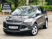 USED 2016 FORD KUGA 2.0 ZETEC TDCI 5d 148 BHP Rear parking sensors, Cruise control, MFSW, Bluetooth
