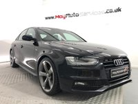 2012 AUDI A4 2.0 TDI BLACK EDITION 4d 174 BHP *GENUINE BLACK EDITION* £8995.00