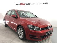 2014 VOLKSWAGEN GOLF 1.6 SE TDI BLUEMOTION TECHNOLOGY 5d 103 BHP £7950.00