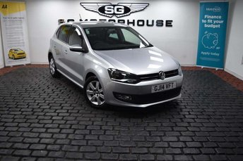 2014 VOLKSWAGEN POLO 1.2 Match Edition 5dr £6995.00