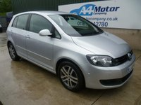 USED 2010 60 VOLKSWAGEN GOLF PLUS 1.6 TDI BlueMotion Tech SE DSG 5dr AUTOMATIC - FINANCE AVAILABLE!