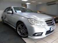 USED 2009 09 MERCEDES-BENZ E CLASS 3.0 E350 CDI BLUEEFFICIENCY SPORT 4d AUTO 231 BHP