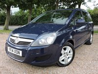 USED 2014 14 VAUXHALL ZAFIRA 1.7 EXCLUSIV CDTI ECOFLEX 5d 108 BHP/ 7 SEATER !!! GREAT CONDITION VAUXHALL ZAFIRA 1.7 EXCLUSIVE CDTI ECO FLEX - 7 SEATER !!! WITH FULL SERIVE HISTORY (10 SERVICE STAMPS)/ LAST SERVICE 05/12/2018 @125'555MILEAGE/ 1 YEAR NEW MOT/ 2 KEYS/ ROAD TAX £145,- / HPI/ ALL 4 TYRES GREAT CONDITION/ BLUETOOTH/   BOOK A TEST DRIVE TODAY!