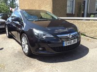 2012 VAUXHALL ASTRA 1.4 GTC SRI S/S 3d 118 BHP £4290.00
