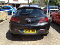 USED 2012 61 VAUXHALL ASTRA 1.4 GTC SRI S/S 3d 118 BHP LOVELY ONE OWNER ASTRA GTC
