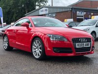 USED 2009 09 AUDI TT 2.0 TFSI 3d 200 BHP NAVIGATION SYSTEM + LEATHER TRIM + FULL SERVICE RECORD + 2 PREVIOUS KEEPERS + BOSE SOUND SYSTEM +