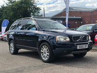 USED 2010 10 VOLVO XC90 2.4 D5 SE AWD 5d AUTO 185 BHP 7 SEATS *   FULL LEATHER *  PRIVACY GLASS *   PARKING AID *SERVICE RECORD *  FULL YEAR MOT *