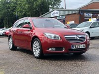 USED 2009 59 VAUXHALL INSIGNIA 2.0 ELITE NAV CDTI 5d 160 BHP NAVIGATION SYSTEM +   FULL LEATHER +  PRIVACY GLASS + FULL SERVICE RECORD +  MOT MARCH 2020 +