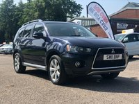 USED 2011 11 MITSUBISHI OUTLANDER 2.3 DI-D GX 3 5d 175 BHP 1 OWNER FROM NEW *  FULL SERVICE RECORD (12 STAMPS) * PARKING AID *  MOT APRIL 2020 *