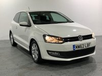USED 2013 62 VOLKSWAGEN POLO 1.2 MATCH 3d 59 BHP