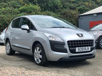 USED 2010 10 PEUGEOT 3008 1.6 ACTIVE HDI 5d AUTO 110 BHP GREAT EXAMPLE OF AUTOMATIC *  1 PREVIOUS KEEPER *  PRIVACY GLASS *  FULL YEAR MOT *