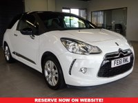 USED 2011 61 CITROEN DS3 1.6 DSTYLE 3d 120 BHP MOT & SERVICE INCLUDED I AA WARRANTY PROVIDED