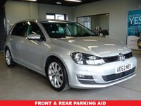 USED 2013 63 VOLKSWAGEN GOLF 2.0 GT TDI BLUEMOTION TECHNOLOGY 5d 148 BHP FSH, WARRANTY AND SERVICE INCLUDE