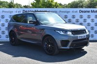 USED 2014 64 LAND ROVER RANGE ROVER SPORT 4.4 AUTOBIOGRAPHY DYNAMIC 5d AUTO 339 BHP SVR BODY KIT 22in SVR ALLOYS